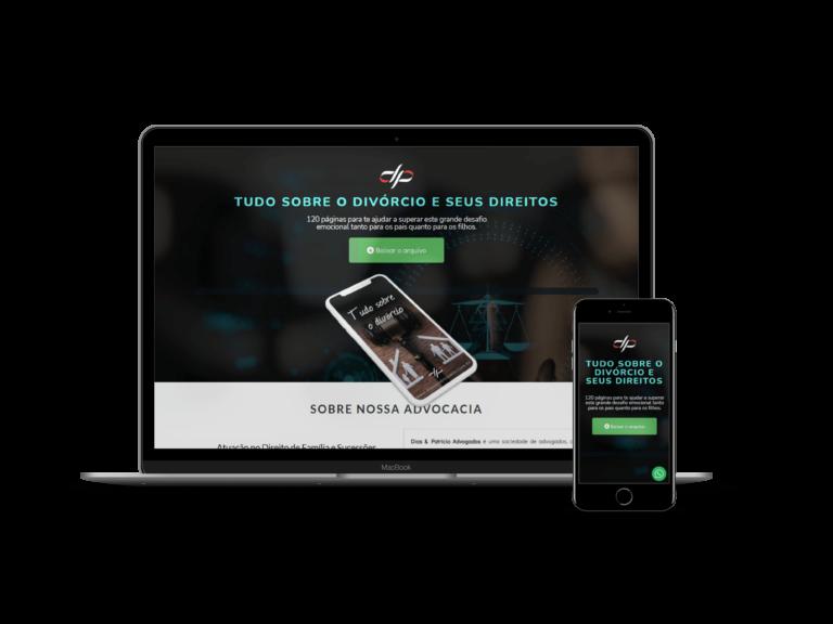 Landing Page de Download de E-Book